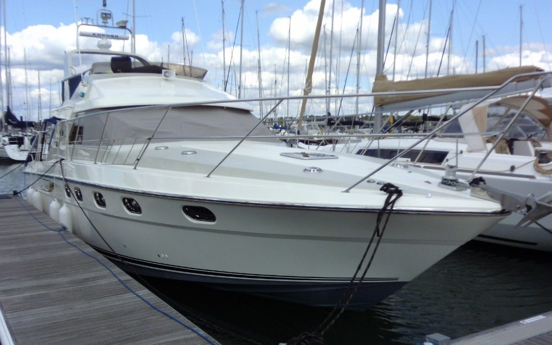 Fairline 43, Hamble