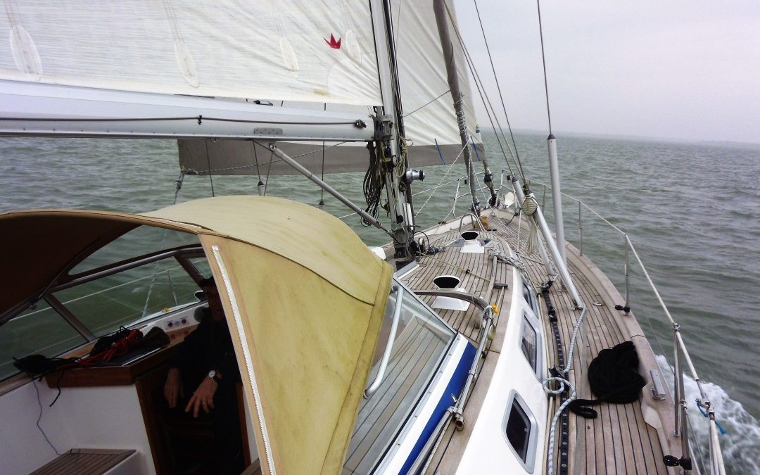 Hallberg Rassy 48, Sea Trial