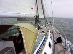 Hallberg Rassy Sea Trial