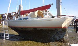 International Folkboat, Marieholm, Hamble, Marine survey