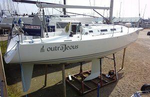 Hamble Marine Survey key yachting J109