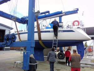 Sweden 370 Marine Survey, Hornet, Gosport