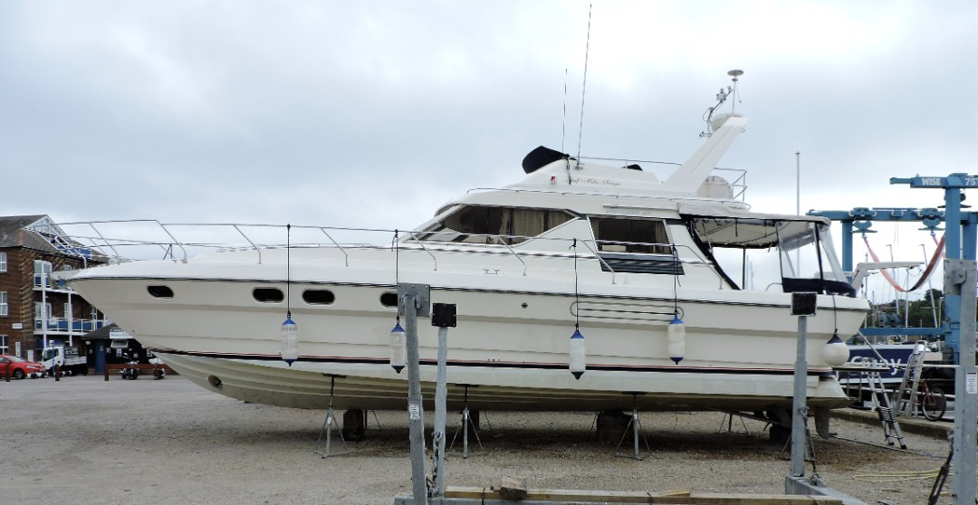 Princess 45 Marine Survey, Southampton