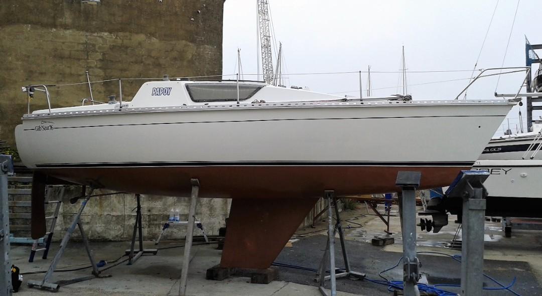 Gibsea Marine Survey at Gosport Marina
