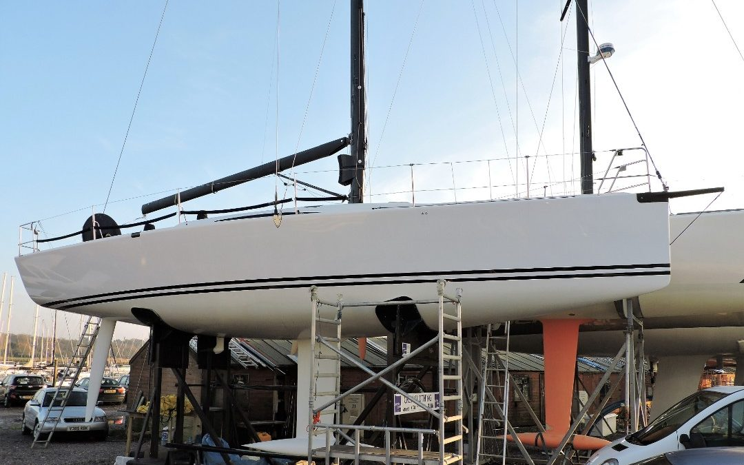 Mark Mills 40 Survey, Hamble