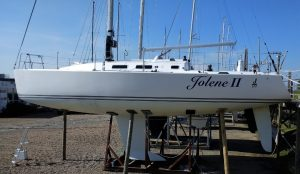 J/109 Marine Survey in Hamble at Key Yaching, the J Boat UK distributor