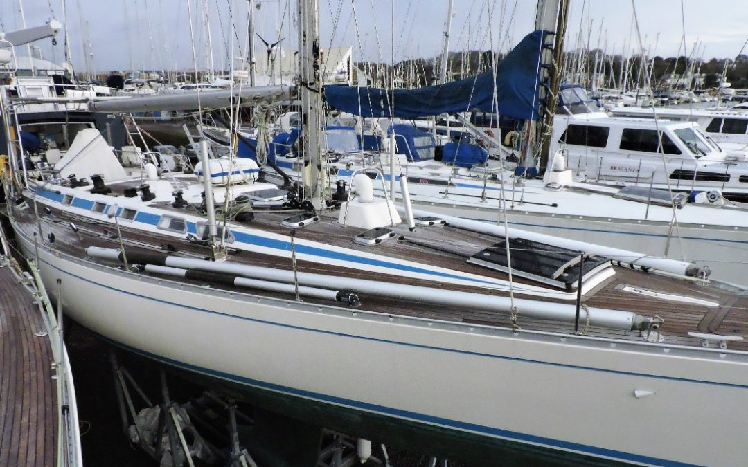 Nautor Swan 46 Survey, Lymington