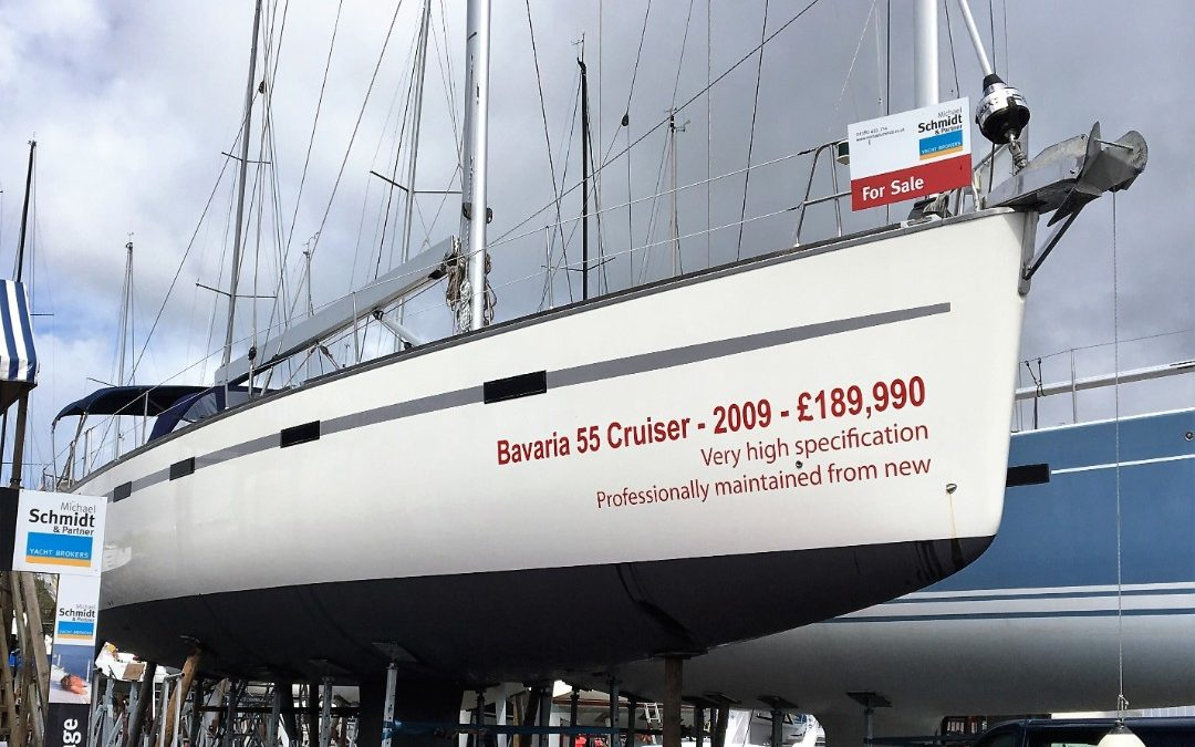 Bavaria 55 Cruiser, Hamble