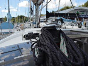 Coachroof & halyard winch
