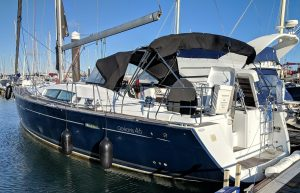 Beneteau Oceanis 46 surveyed at Gosport