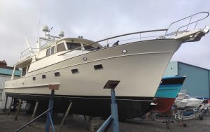Fleming 55 marine survey Lymington